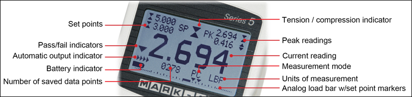 Series 5 Display Indicator