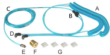 Air Connection Kit AC1019