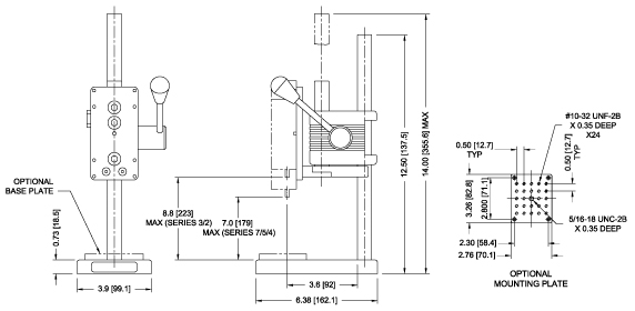ES05 Dimensions