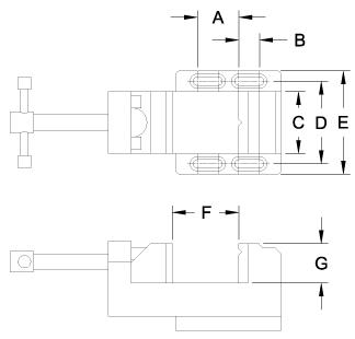 G1074 Dimensions