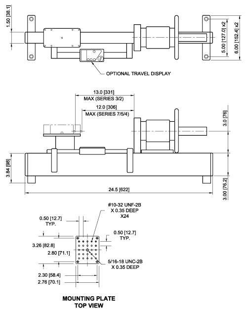 TSC1000H Dimensions