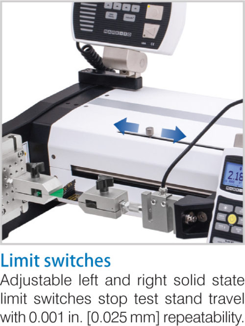 Mark-10 ESM303H Motorized Test Stand Limit Switches