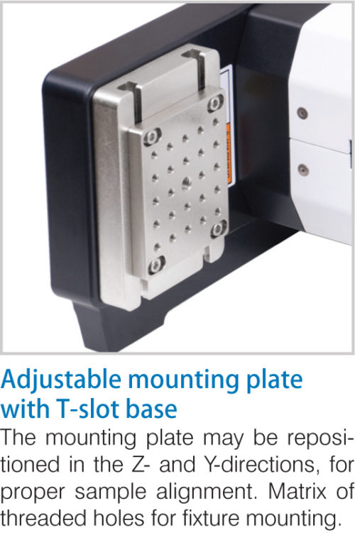 Mark-10 ESM303H Motorized Test Stand Adjustable Mounting Plate