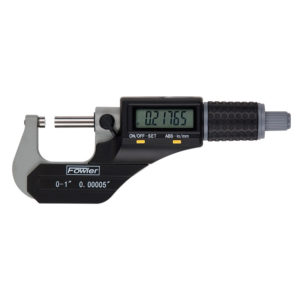"""54-870-001-0 Fowler Xtra-Value II Electronic Micrometer 1""""/25mm"""