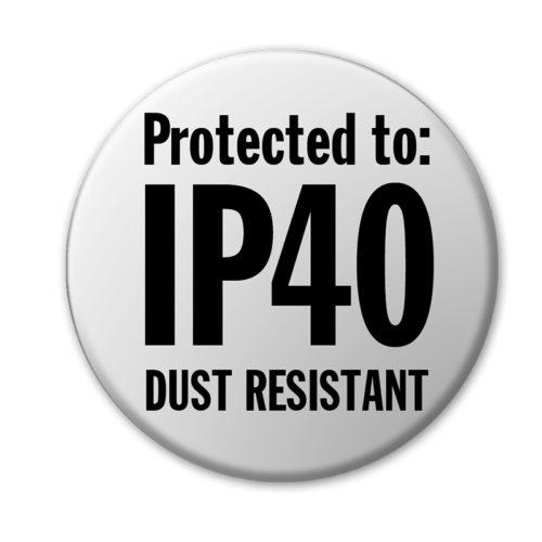 IP40 Rating