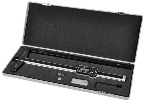 54-136-512-0 Range 0-12in/300mm Fowler Light Line Digital Depth Gage with adjustable Base