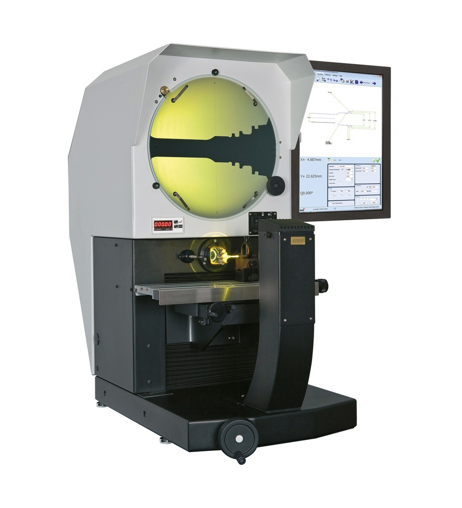 Optical Comparator R400-GXL Series 30 | Quality Control