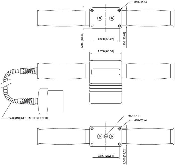 Mark-10 MR05 Drawing