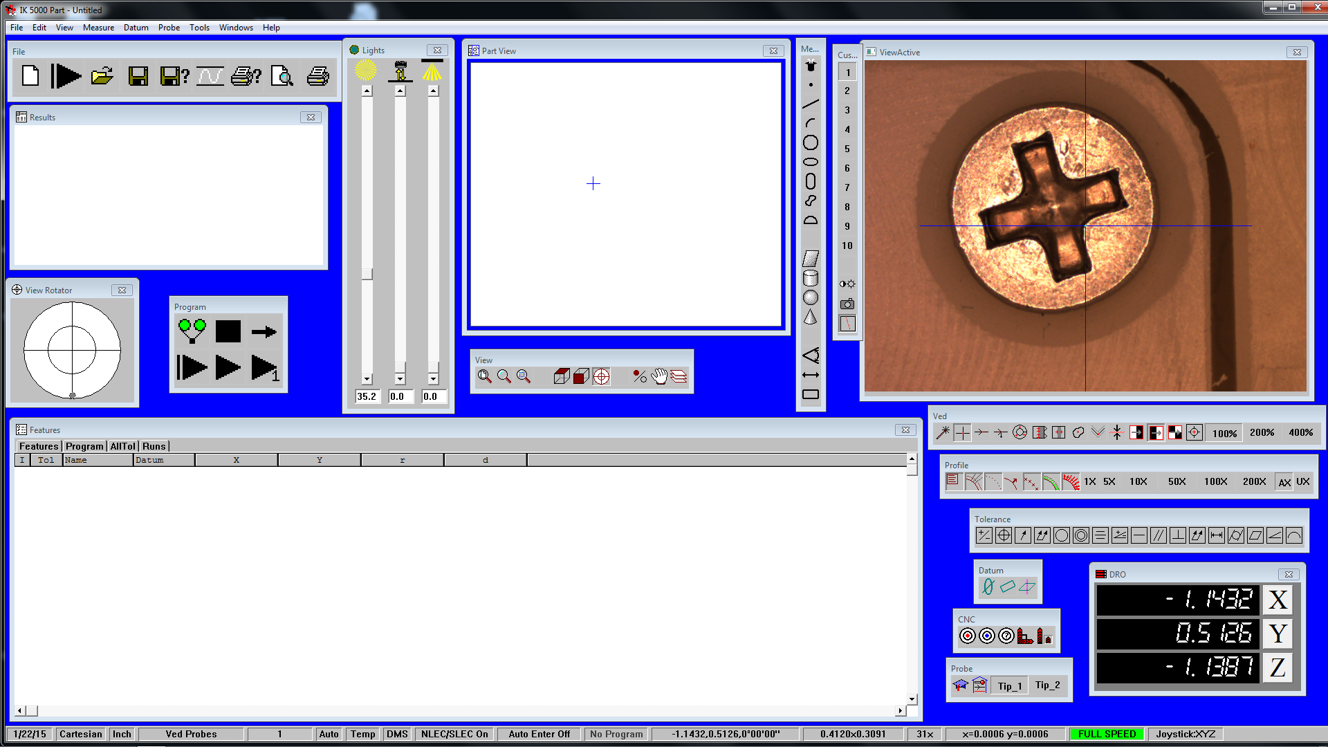 IK5000 Metrology Software