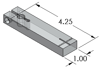 Inspection Arsenal ADJ-PLT-10 Adjustable Platform, Acrylic