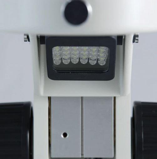Ergoscope® Track Ergostand, 76mm Course Focus Rack, LED Light