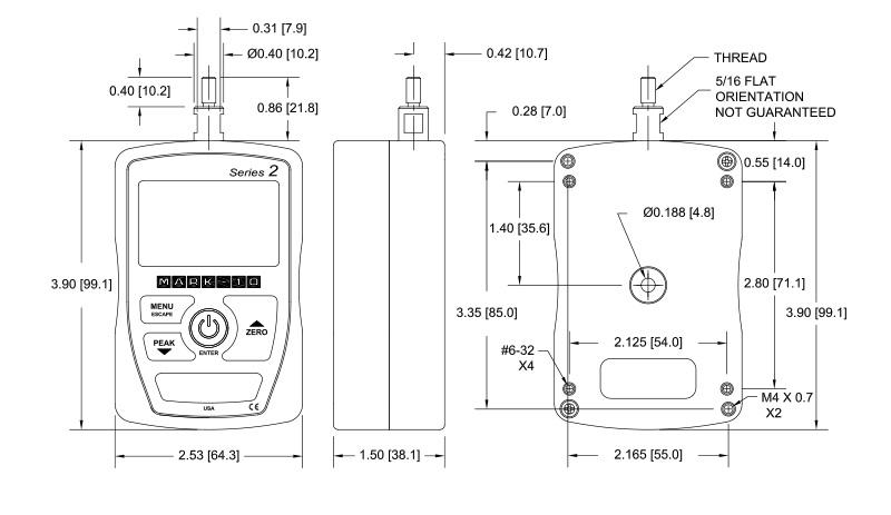 mark-10-series-2-force-gauge-dimensions
