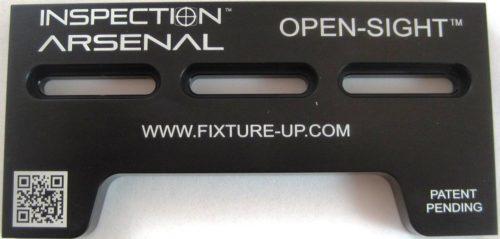 Inspection Arsenal OS-DOCK Open-Sight™ Docking Rails Close Up