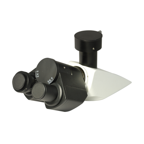 Compound Microscope Eyepiece Body Tube, Trinocular, Finite, Eyetube Angle 30 Degrees, BM14031321