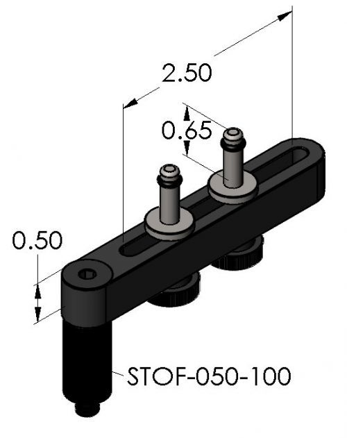 "Inspection Arsenal SC-06-01 Spider Clamp 3"" (1 Legged)"