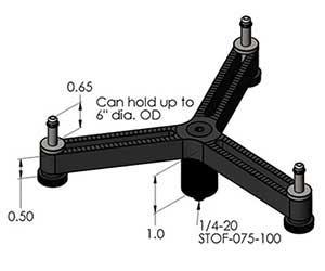 "Inspection Arsenal SC-06-03 Spider Clamp 6"" (3 Legged)"