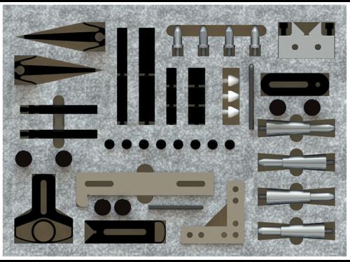 Inspection Arsenal TR-KIT-03 CMM Work Holding Starter Kit
