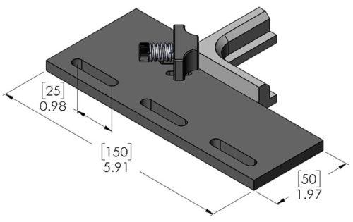 Inspection Arsenal VCB-150M Vision Corner Block 150mm