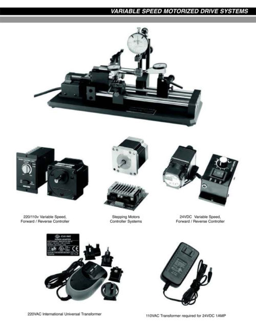 Variable Speed Motorized Drive Systems