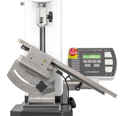 Mark-10 Peel Test Fixture G1109 (90° / 45° / 30°) Side View