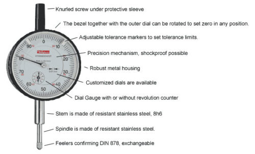 Kafer German Dial Indicators