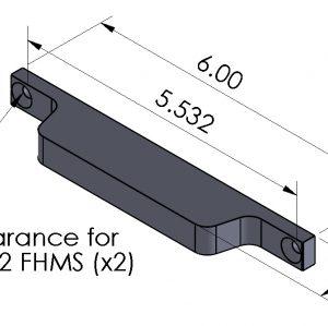 Inspection Arsenal LNL-ADPT-06 Loc-N-Load™ Adapter Plate Tongue