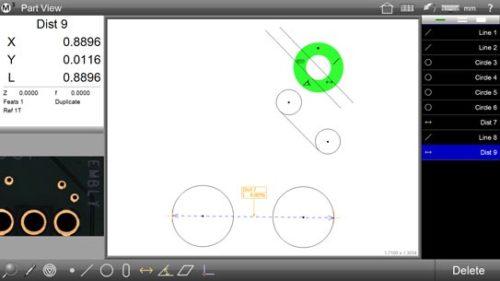 M3 Digital Readout Part View