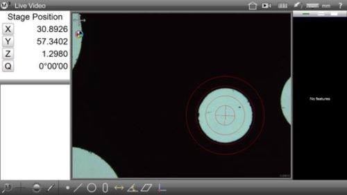 M3 Digital Comparator/DXF Crosshair