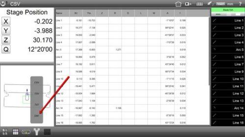 M3 Digital Comparator/DXF Export