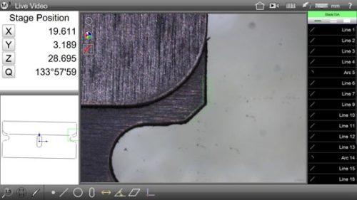 M3 Digital Comparator/DXF Overlay