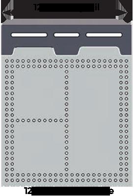 Inspection Arsenal SYS06_DK12VIS01 Bundle 12″ Dock, 12×12″ Plate