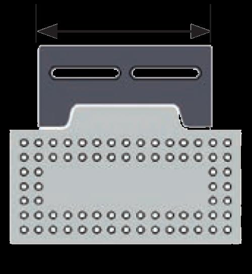 "Inspection Arsenal SYS04_DK06VIS01 Bundle: 6″ Dock, 8x4"" Plate"