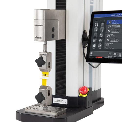Mark-10 Advanced Test Frames (Series F): F105, F305, F505, F505H Vertical Peel Attachment