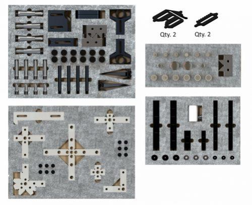 Inspection Arsenal TR-KIT-01 CMM Work Holding WORKS Kit