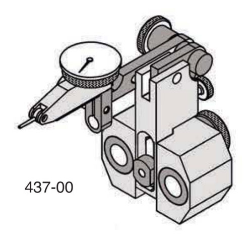 Universal Punch 437-10 End Dial Test Indicator Carrier Assembly (Models H-10 & HL-10)