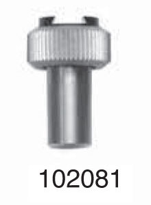 """Universal Punch 102081 Fixed shank dovetail clamp Ø 3/8"""" x 1/2"""" (9.5mm x 20mm)"""