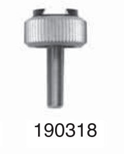 """Universal Punch 190318 Fixed shank dovetail clamp Ø 5/32"""" x 1/2"""" (4mm x 20mm)"""