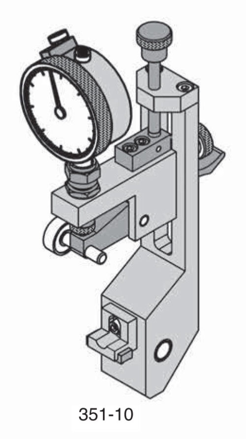 Universal Punch 351-10 Vertical Dial Roller Carrier With Fine Adjustment (Models -10, -20)