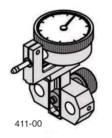 Universal Punch 411-10 Front Horizontal Indicator Carrier Assembly (Models H-10 & HL-10)