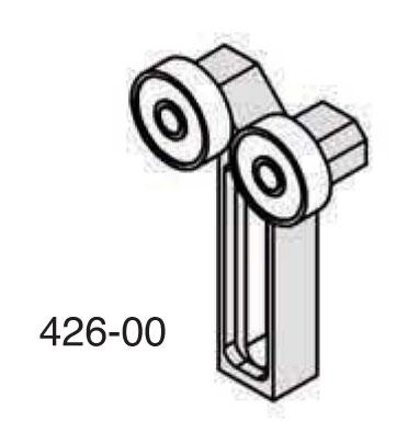 Universal Punch 426-10 Wide End Roller Support (Models H-10 & HL-10)