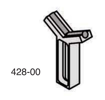 Universal Punch 428-10 Fixed Carbide Vee Support (Models H-10 & HL-10)