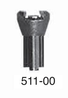 "Universal Punch 511-00 Indicator Dovetail Mount Ø 3/8"" (9,5mm)"