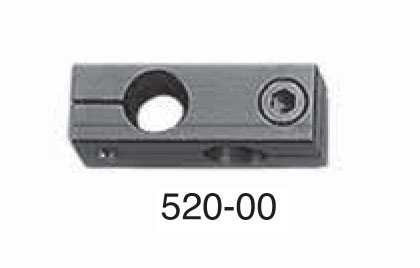 """Universal Punch 520-00 Back Stop Perpendicular Bracket Clamp Ø3/8"""" (9,5mm)"""